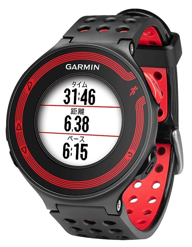 苦行一人で綺麗なGARMIN(ガーミン) ランニングウォッチ 時計 GPS ForeAthlete 220J ブラック/レッド Bluetooth対応 【日本正規品】 114764