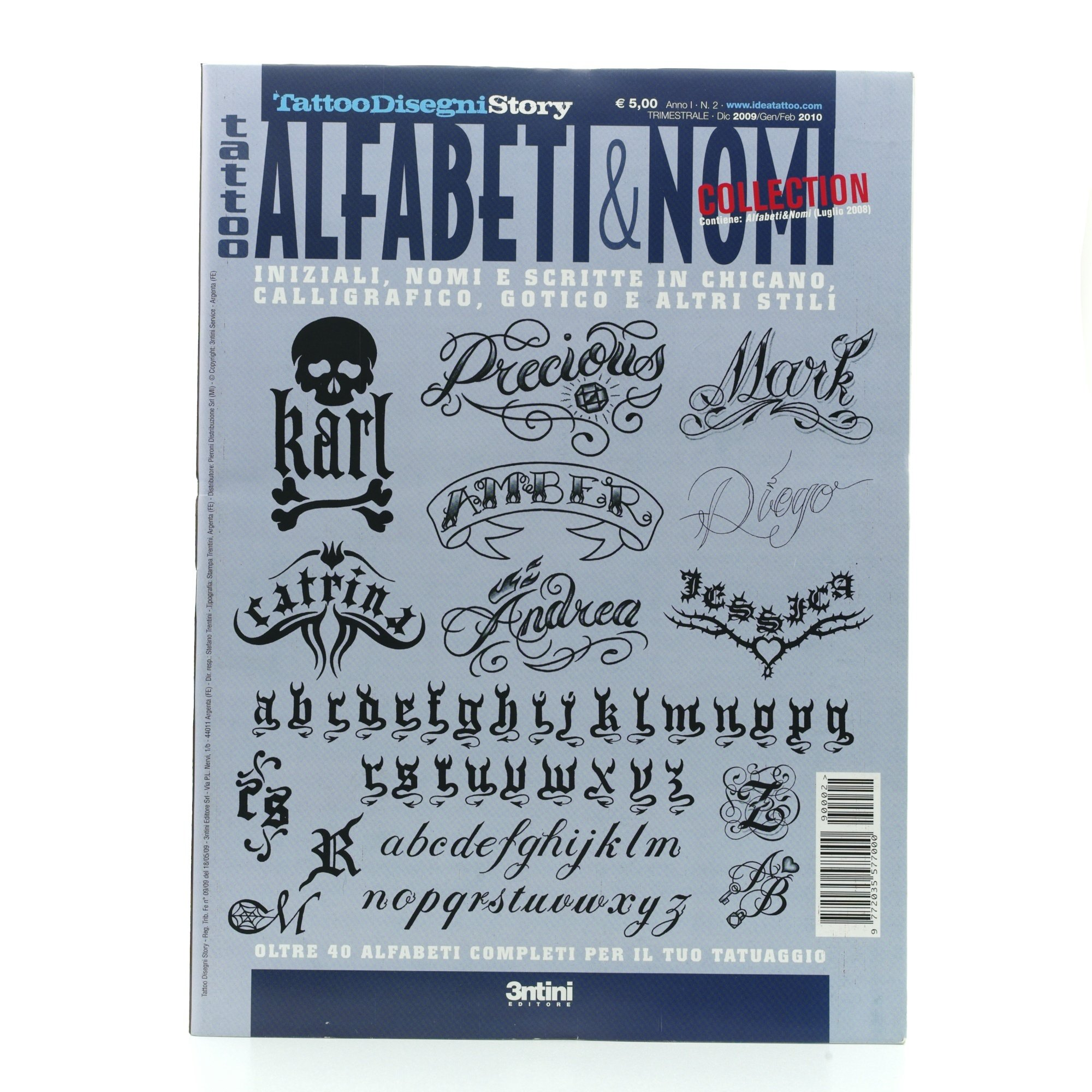 Tattoo Flash Book - Libro de tipografía para tatuajes: Amazon.es ...