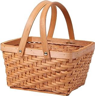 Vintiquewise(TM) QI003056 Rectangular Chip Picnic Basket