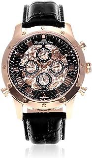 Lindberg & Sons - Reloj analógico para Hombre de automático con Correa en Piel SK14H004