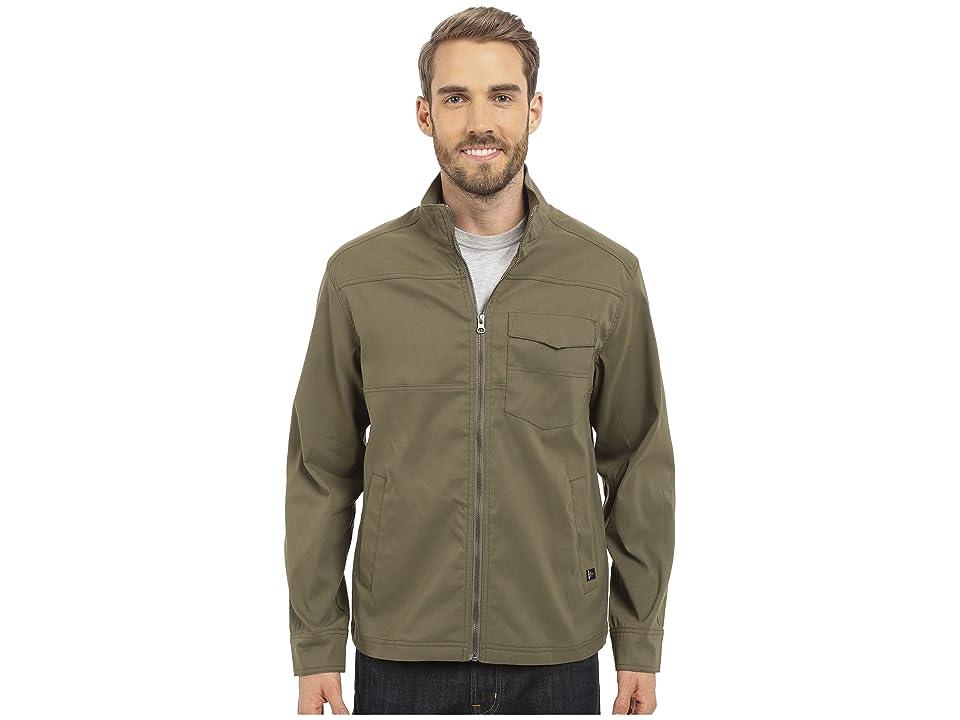Prana Zion Jacket (Cargo Green) Men