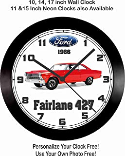 Best ford racing wall clock Reviews