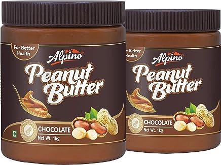 Alpino Peanut Butter Chocolate 2kg (Gluten Free / Non-GMO) (1kg Pack of 2)