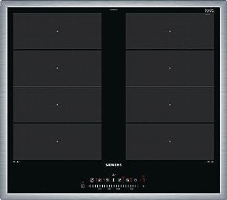 Siemens EX645FXC1E plaque Noir, Acier inoxydable Intégré Plaque avec zone à induction - Plaques (Noir, Acier inoxydable, I...