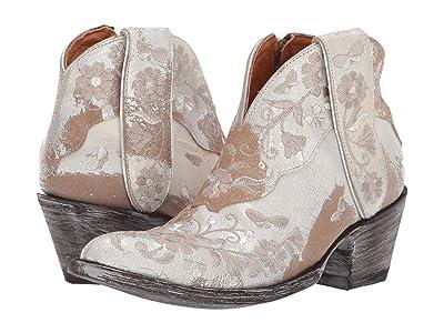 Old Gringo Cate Short (Snow/Metallic Sand) Cowboy Boots