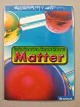 Harcourt Science Leveled Readers: On-Level Reader 5-Pack Grade 5 It Is Good to Know About Matter