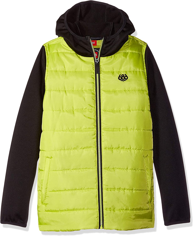 686 Boys Heater Insulated Jackets Waterproof Ski//Snowboard Jackets