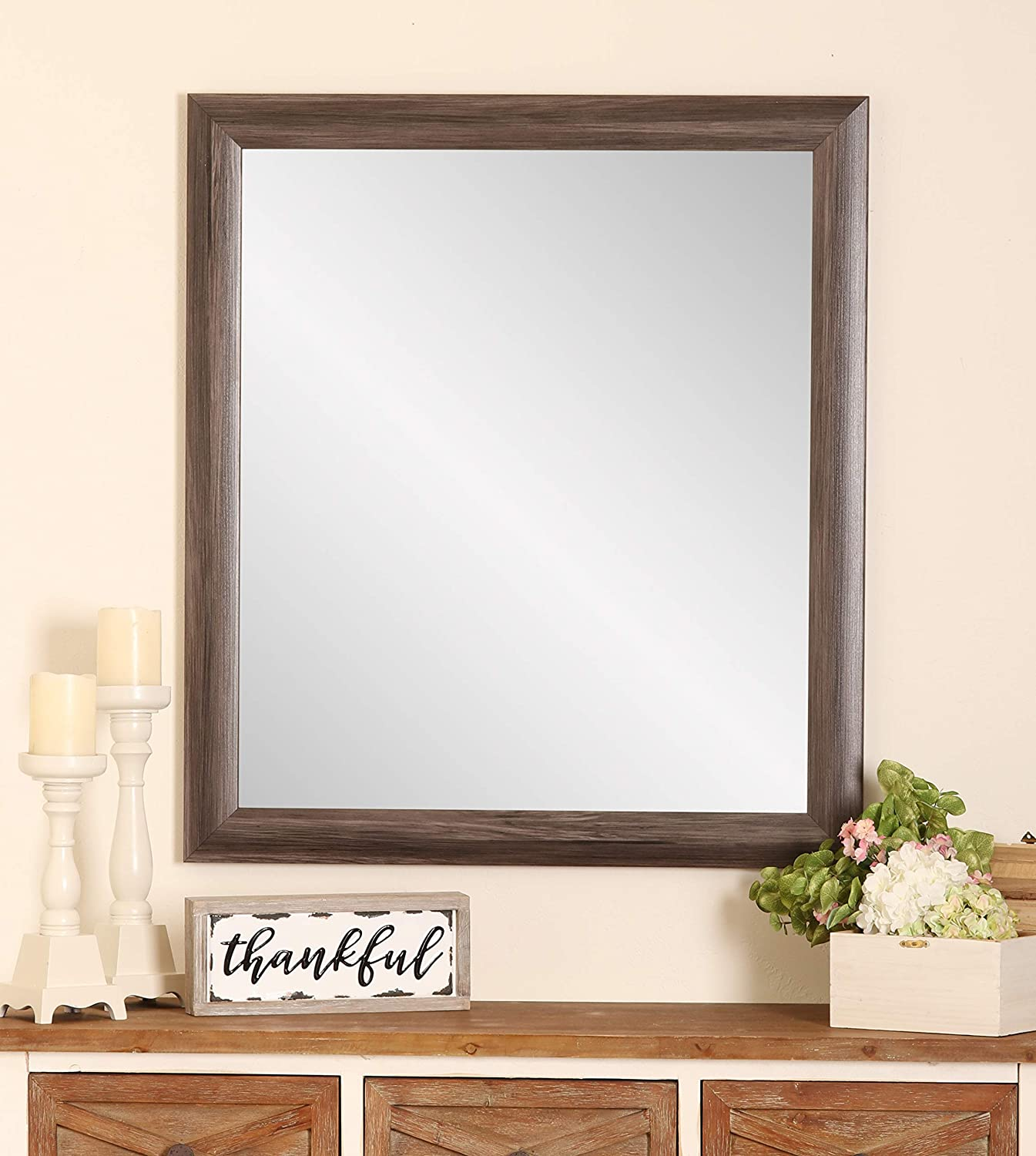Wall-Mounted Mirrors Mirror Smart Mirror Touch Screen Led Bathroom Mirror Wall Mount Mirror Bathroom Mirror with Light Bathroom Mirror (color   Chrome, Size   50  70  3cm)