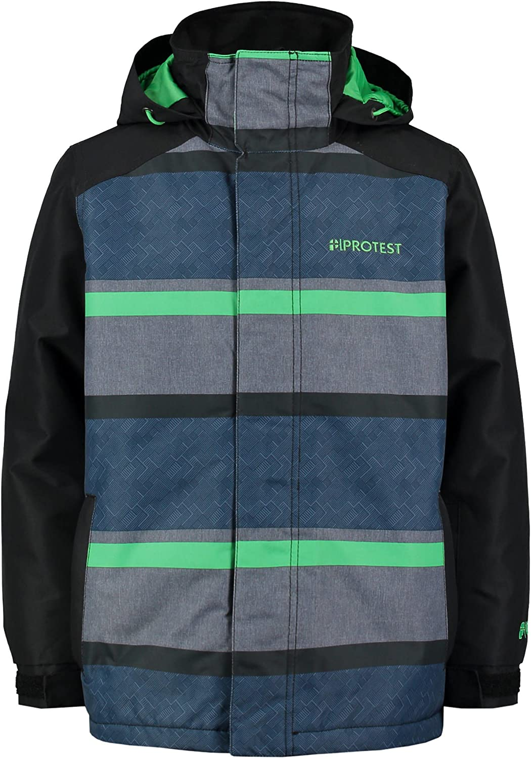 Predest Lizard Green Castor Kids Snowboarding Jacket