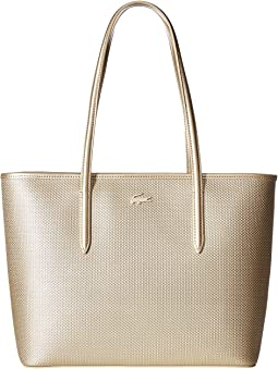 Lacoste Chantaco Holidays Medium Zip Shopping Bag