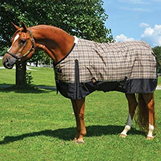 5/A Baker Heavy Weight Turnout Blanket Black Label 78 Plaid