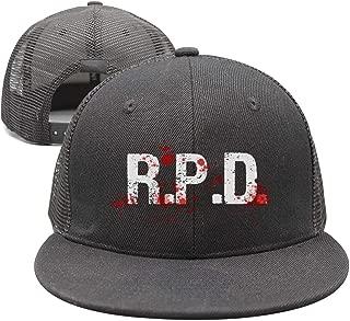 Unisex Resident-Evil-2-R.P.D.- Trucker Hat Summer Cap Hip Hop caps