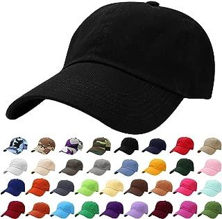 Classic Baseball Cap Dad Hat 100% Cotton Soft Adjustable Size