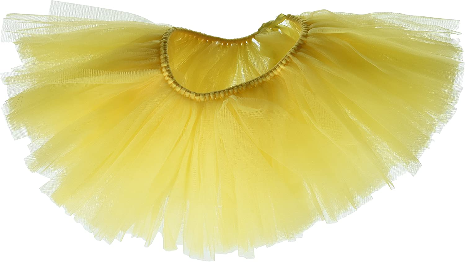 Handcrafted in USA Yellow Tulle Tutu Large Dogs