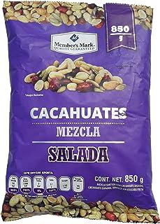 Cacahuates Mezcla Salada Member´s Mark. 850 gr