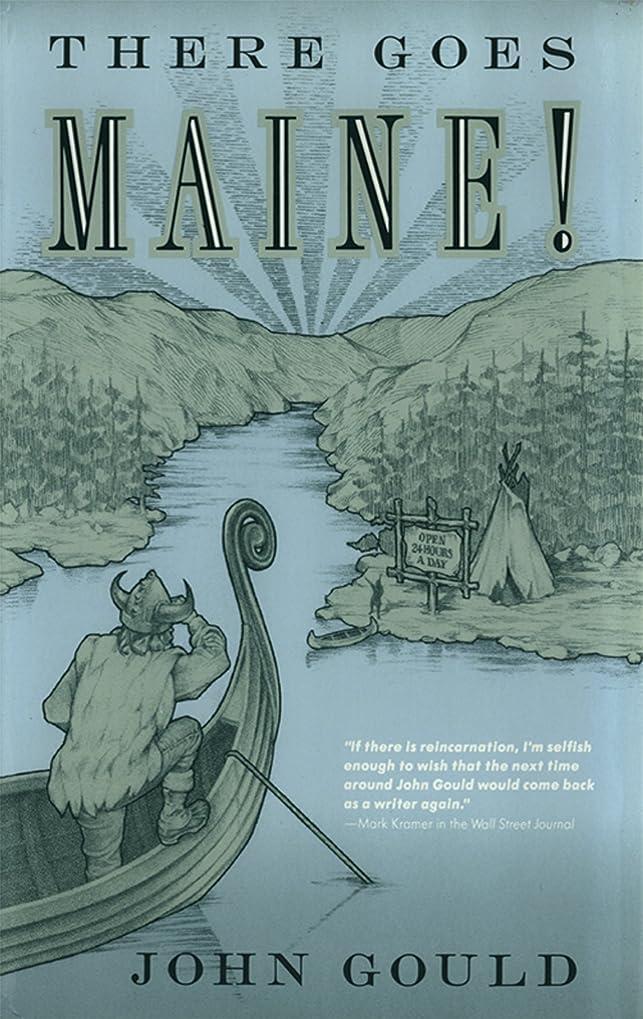 ユーザー歪める怒りThere Goes Maine! (English Edition)