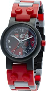 LEGO Star Wars 8020332 Darth Maul Kids Buildable Watch with Link Bracelet and Minifigure