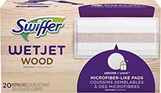 Swiffer Wetjet Wood Mopping Pad Refill, 20 Count