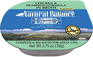 Natural Balance L.I.D. Limited Ingredient Diets Wet Cat Food in Broth