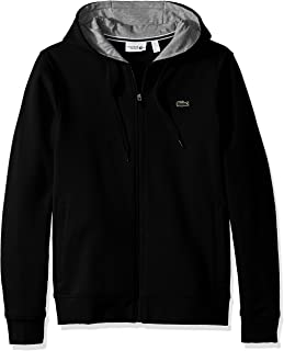 Lacoste Men's Full Zip Hoodie Fleece Sweatshirt