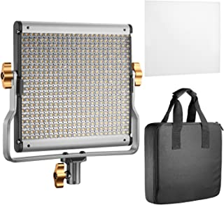 Neewer Dimmable Bi-Color LED with U Bracket Professional Video Light for Studio, YouTube Outdoor Video Photography Lightin...