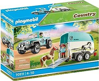 PLAYMOBIL Country Auto met aanhanger - 70511