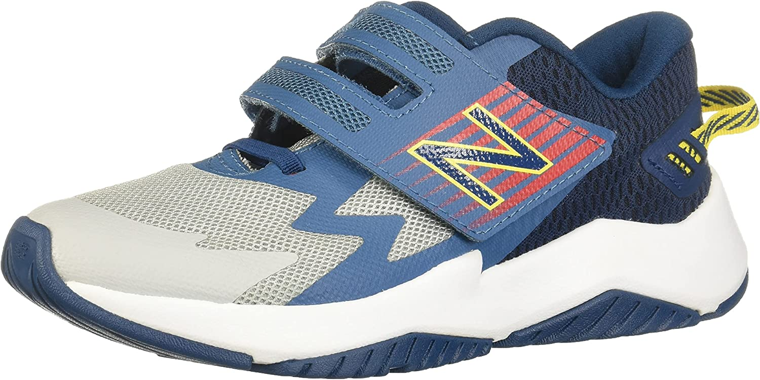 New Balance Kids' Rave Run National products Opening large release sale V1 Hook Loop Shoe Running and