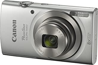Canon PowerShot ELPH 180 Digital Camera w/ Image...