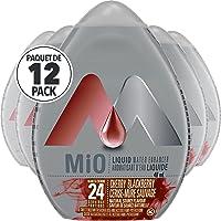 MiO Cherry Blackberry Liquid Water Enhancer, 48mL (Pack of 12)