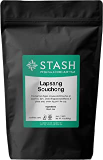 Stash Tea Lapsang Souchong Black Loose Leaf Tea 16 Ounce Pouch Loose Leaf Premium Black Tea for Use with Tea Infusers Tea ...
