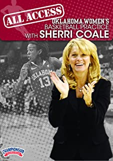 Championship Productions Sherri Coale: All Access Oklahoma Women's Basketball Practice DVD