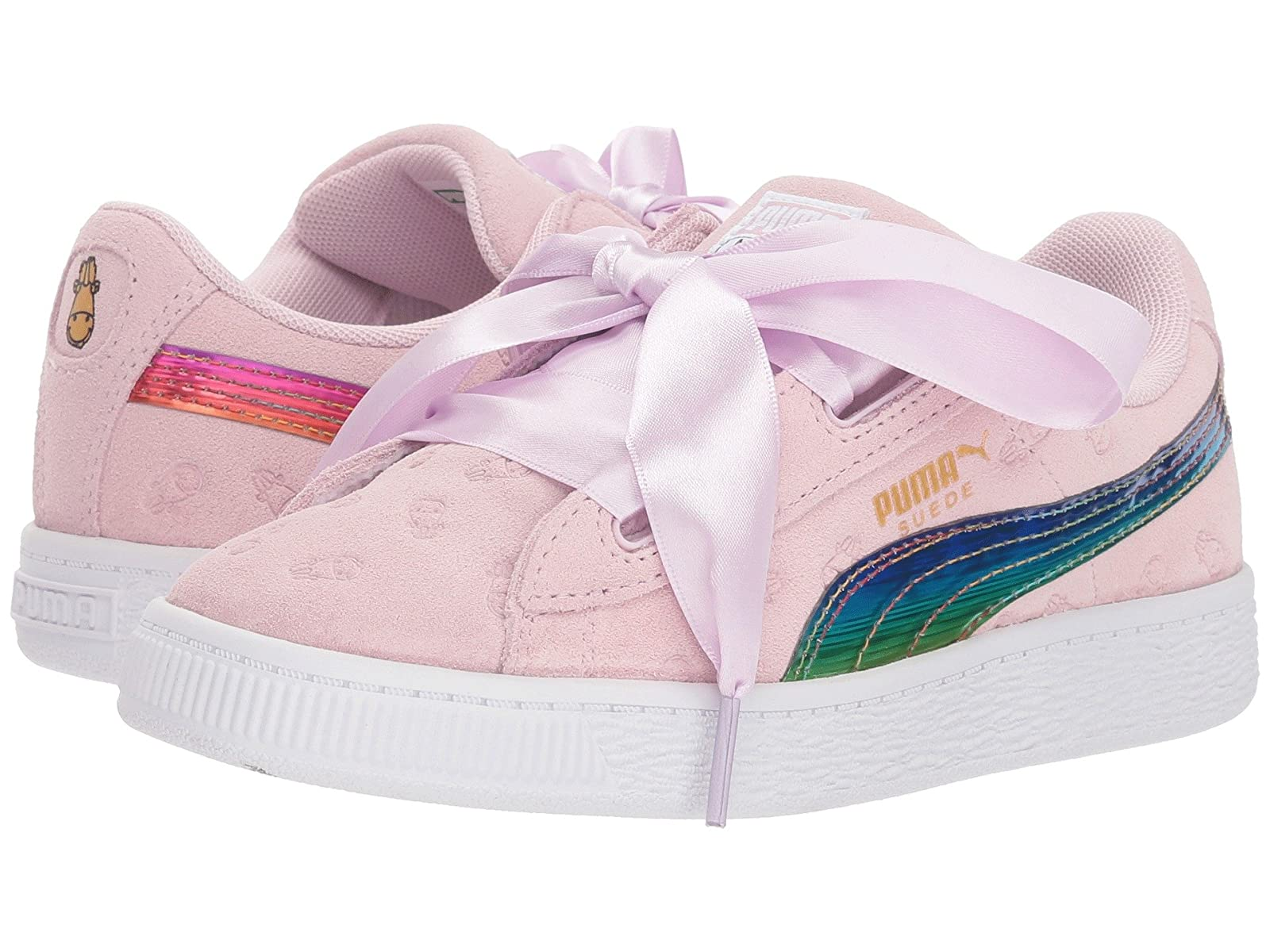 Puma Kids Minions Suede Heart Fluffy (Little Kid/Big Kid)Atmospheric grades have affordable shoes