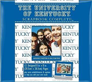 C.R. Gibson Scrapbook Complete Kit, Album In School Colors, Officialy Licensed NCAA, Measures 8