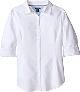 Solid Oxford Shirt (Big Kids)