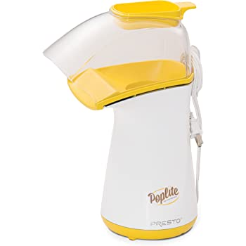 Presto 04820 PopLite Hot Air Popper, Yellow