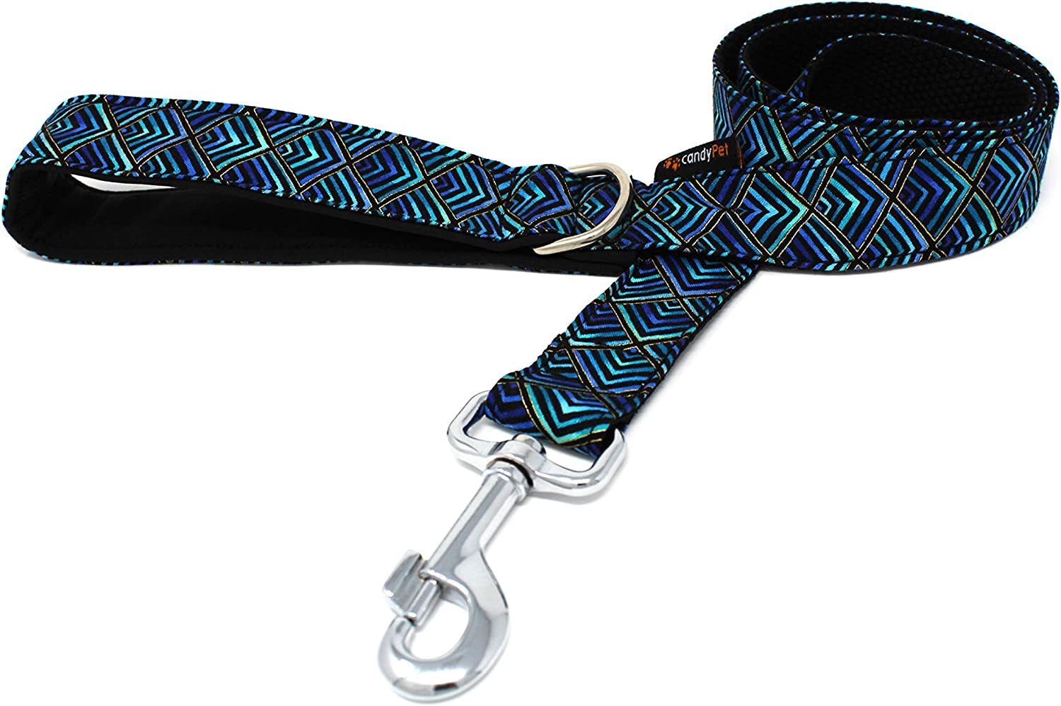 candyPet Dog Lead - In Lowest price challenge stock 120 cm Padded Handle with