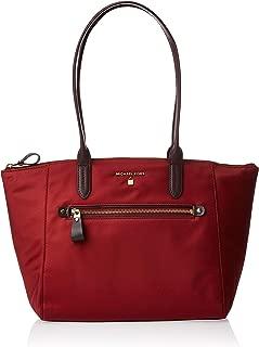 Michael Kors Womens Medium Tz Tote Handbag, Brandy-30F7GO2T2C