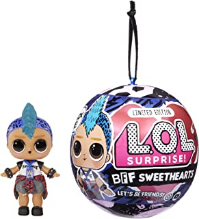 LOL Surprise BFF Sweethearts Punk Boi Doll with 7 Surprises, Surprise Doll, Boy Doll, Accessories
