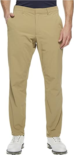 Slim Fit Solid Tech Pant