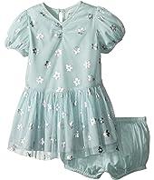 Stella McCartney Kids - Missy Daisy Print Tulle Dress (Infant)
