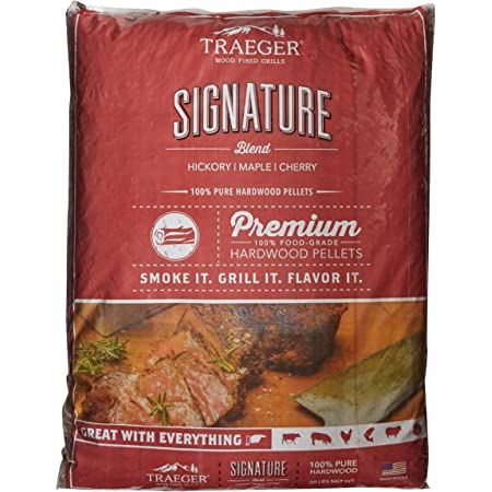 Traeger Grills PEL331 Signature Blend Grill, Smoke, Bake, Roast, Braise, and BBQ, 20 lb