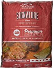 Traeger Grills PEL331 Signature Blend 100% All-Natural Hardwood Pellets – Grill,..