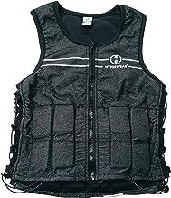 Hyperwear Hyper Vest FIT Verstelbaar Gewogen Vest Vrouwen (7 lb L) 5 lbs of 8 lbs Running Walking Workouts Metallic Zwart ...