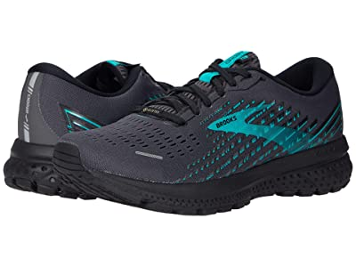 Brooks Ghost 13 GTX(r) (Black/Black/Peacock) Women