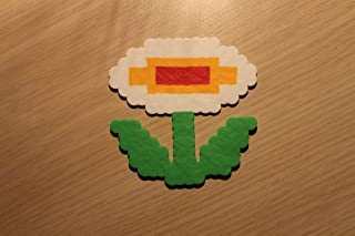 mario fire flower pixel art