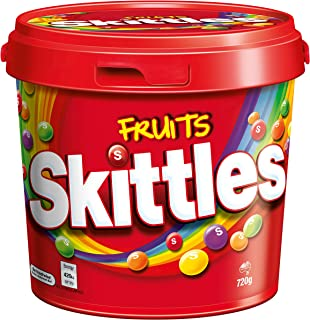 Skittles Fruit Party Bucket, 720g
