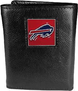 NFL Mens Leather Tri-fold Wallet