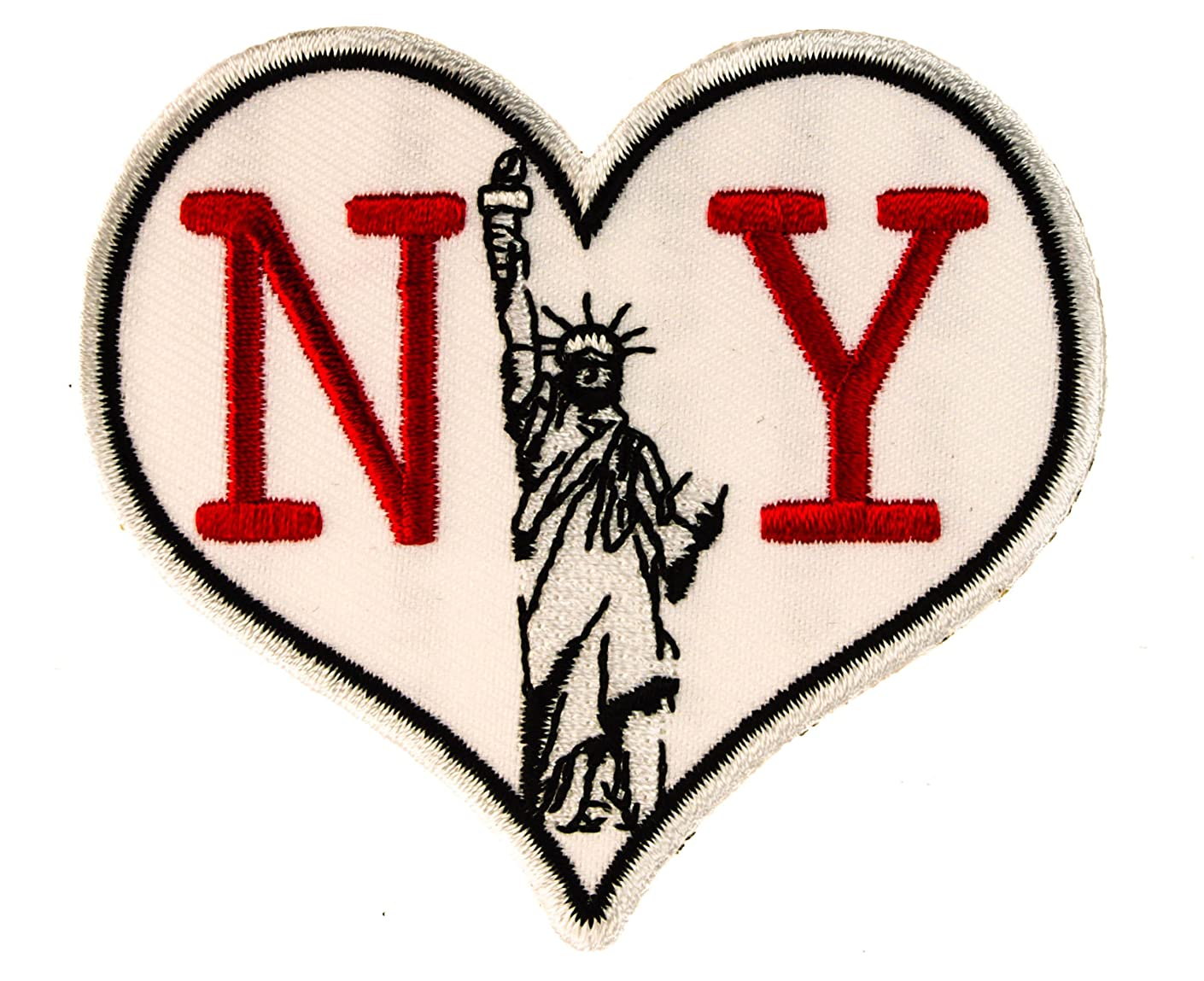 LOVE New York 3 Inch Iron or Sew on Biker Patch