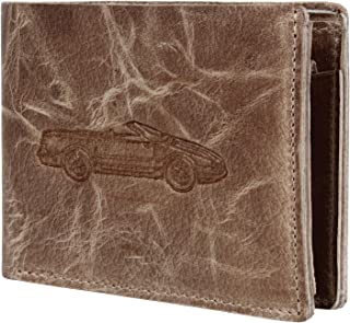 Mens Wallet Leather Bifold - Genuine Leather RFID Blocking Bifold Wallet With Coin Pocket