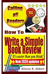 How To Write a Simple Book Review: It's easier than you think Kindle Edition
